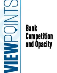 Bank Competition and Opacity